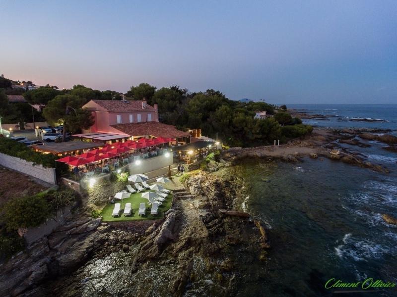 Vue aérienne du restaurant